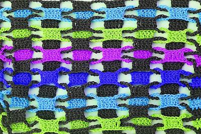 5 - CROCHET Imagen Punto entrelazado a crochet y ganchillo muy fácil y sencillo por MAJOVEL CROCHET