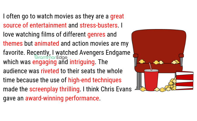 IELTS Vocabulary for Cinema and Movies
