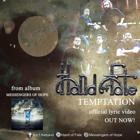 "HAND OF FATE: Δείτε το lyric video του ""Temptation"""