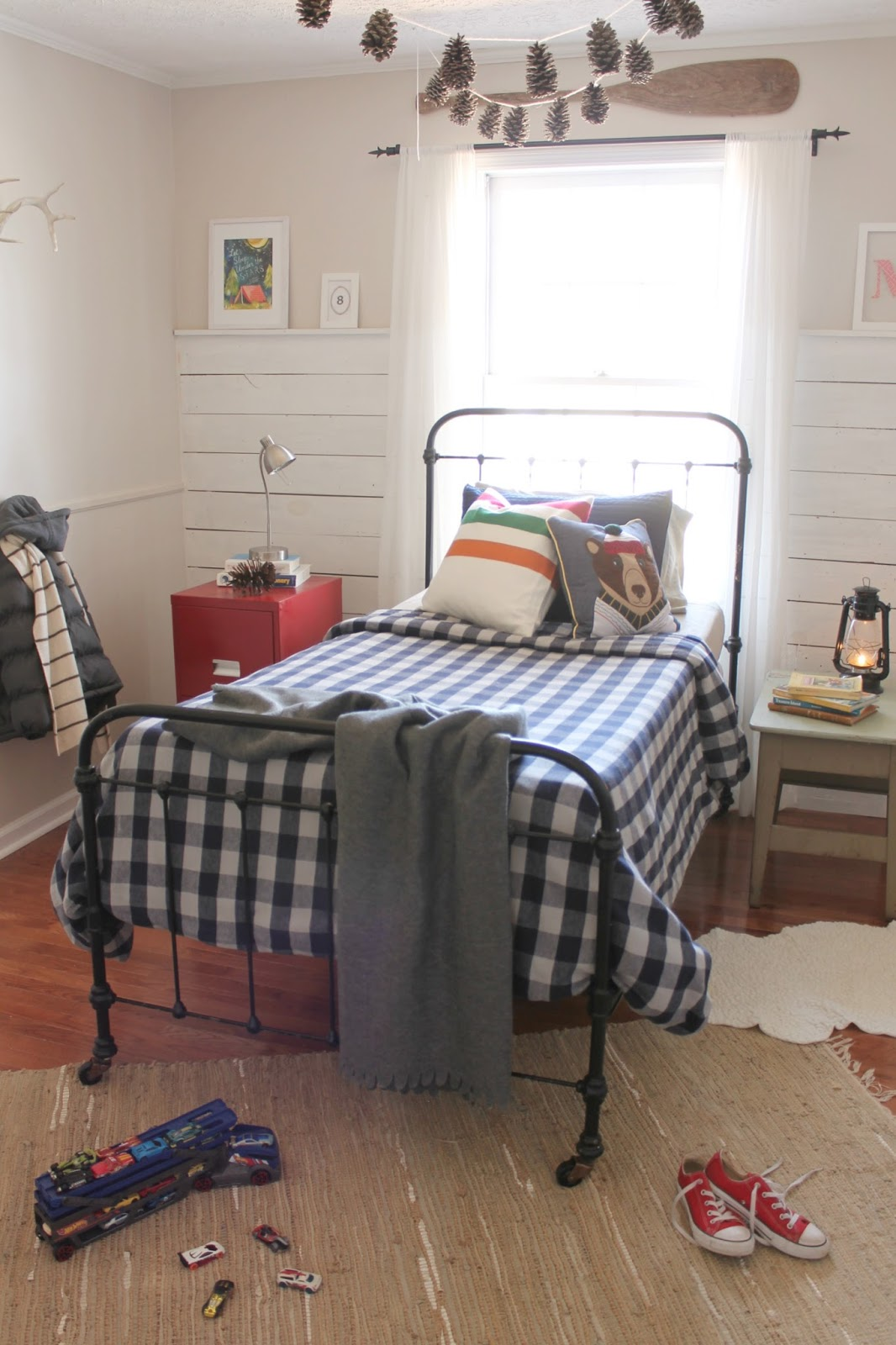 The Little Farm Diary Cabin Inspired Boy 39 S Bedroom