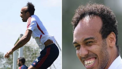 image result for patrick aubameyang quarantine haircut