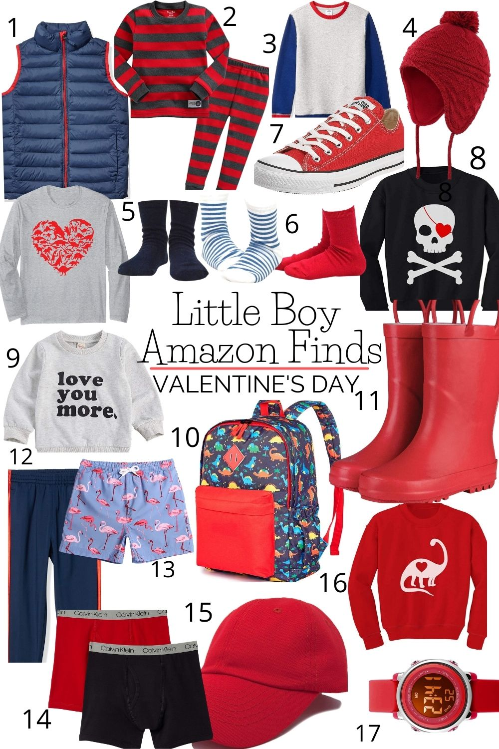 The Best of Amazon Valentine's Day for Little Boys