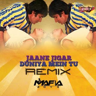 Jaane Jigar Duniya Mein Tu ( Remix ) Mafia Boys [NewDjsWorld.Com]