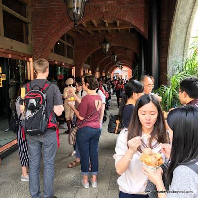outside ice cream shop at Miyahara in Taichung, Taiwan