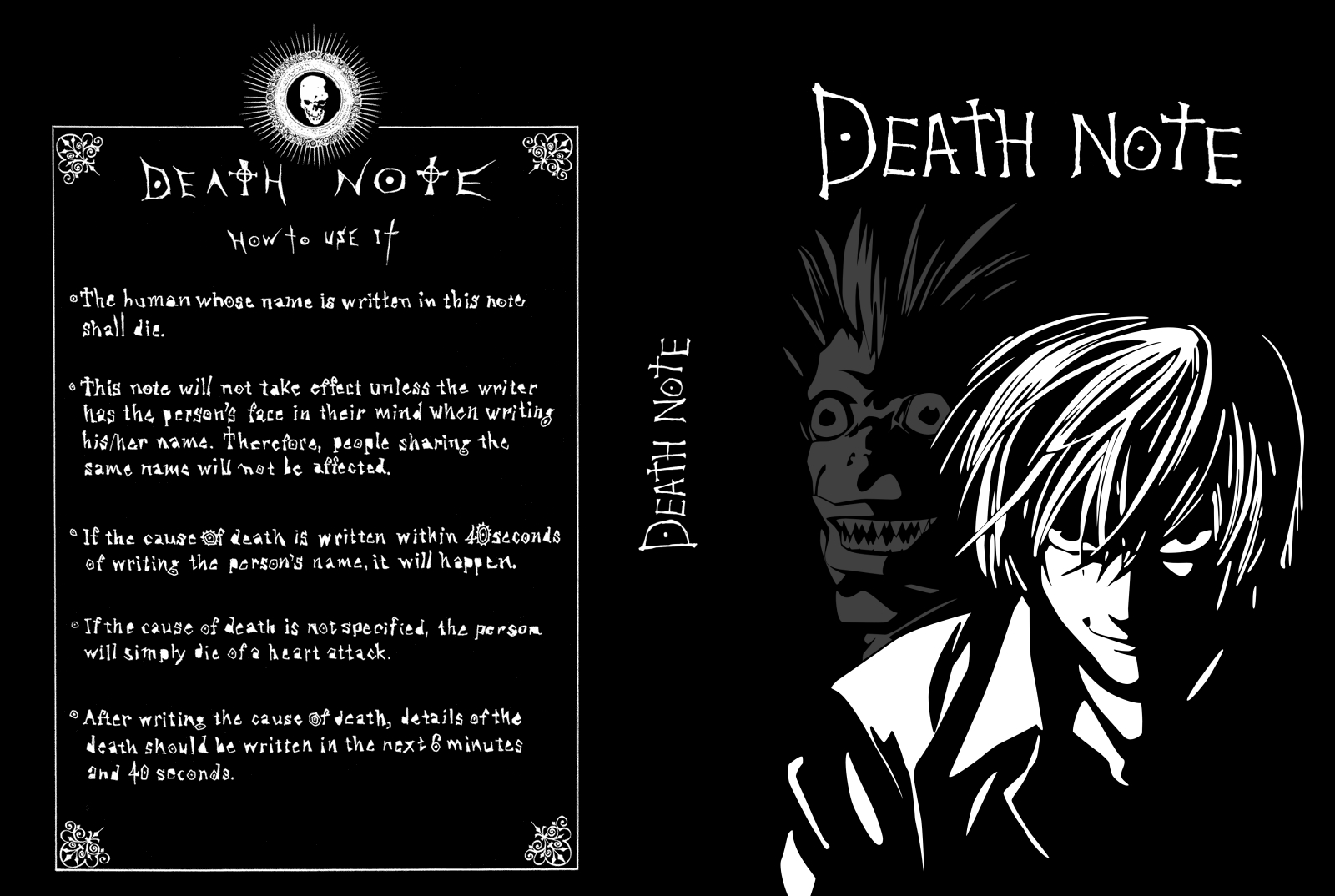 DVD COVERS AND LABELS: Death Note