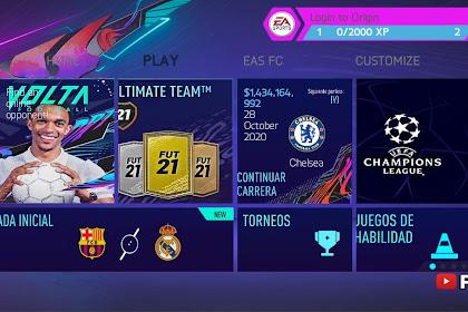 FIFA 21 MOD FIFA 14 Android Fabix V5.5 Offline 800MB [Fixed Career Mode] New Transfer Update