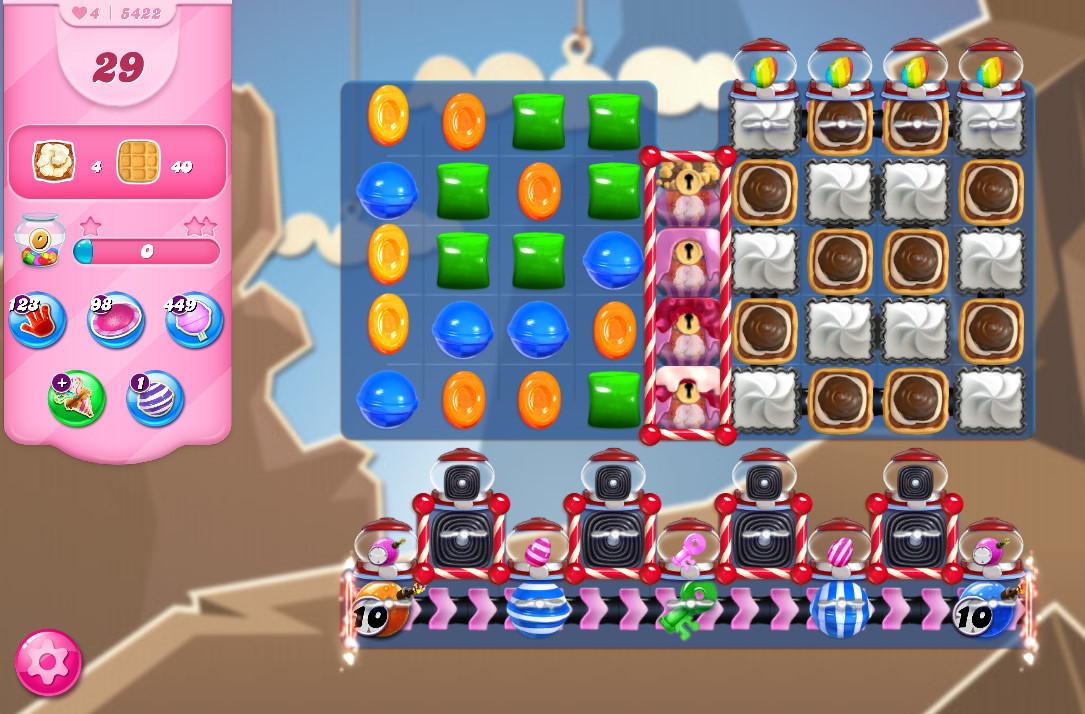 Candy Crush Saga level 5422