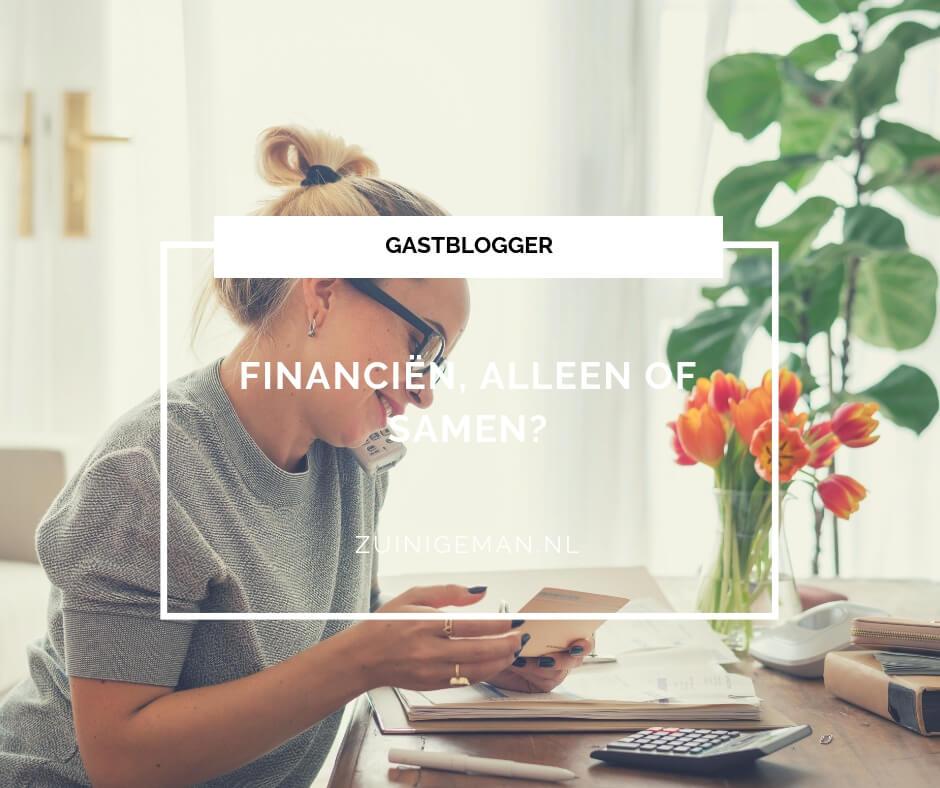 Financiën, alleen of samen?