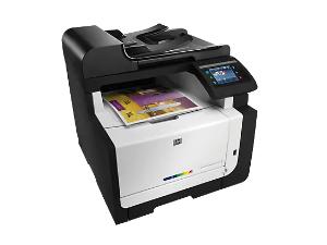 HP LaserJet Pro CM1415 Color Multifunction Printer Series