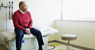 Man with prostate cancer
