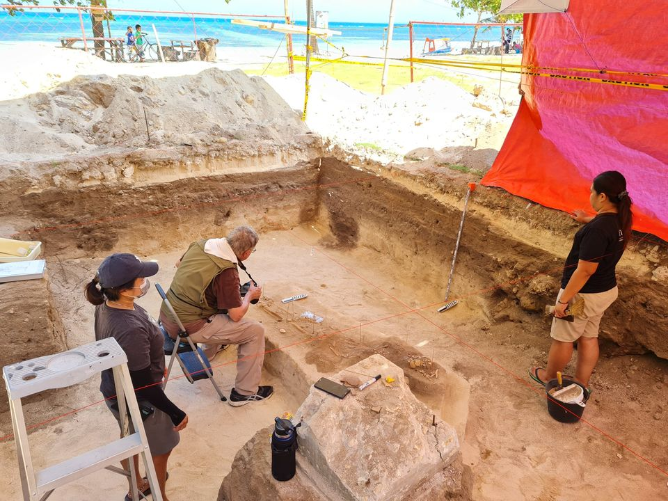 Archaeological Excavations in San Remigio on the Northern Part of Cebu Island