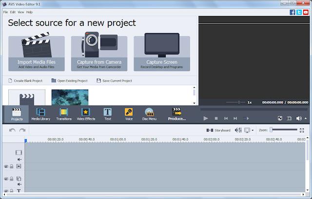 Screenshot AVS Video Editor 9.2.1.349 Full Version