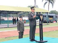 Kasdivif 2 Kostrad Pimpin Upacara Hari Lahir Pancasila