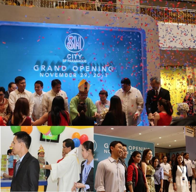 Grand Opening SM BF Paranaque November 29, 2013
