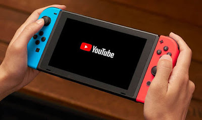 Nintendo Switch Gets Youtube App