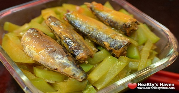 Chayote & Sardines Recipe