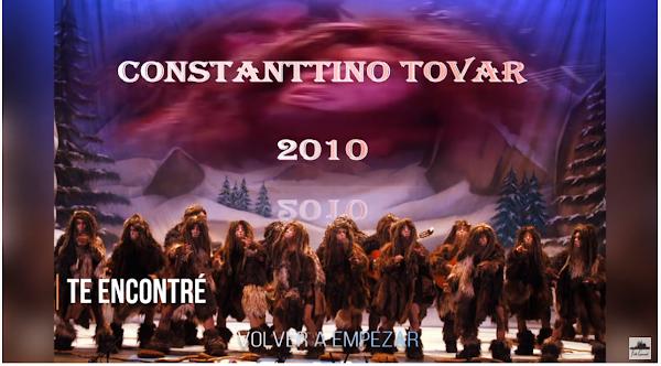 """Pasodoble con Letra """"Te encontré"""". Comparsa """"Volver a Empezar"""" (2010)"""