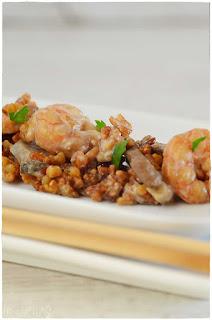 Receta de ku-bak con tres delicias- ku-bak con gambas-  ku bak mixto