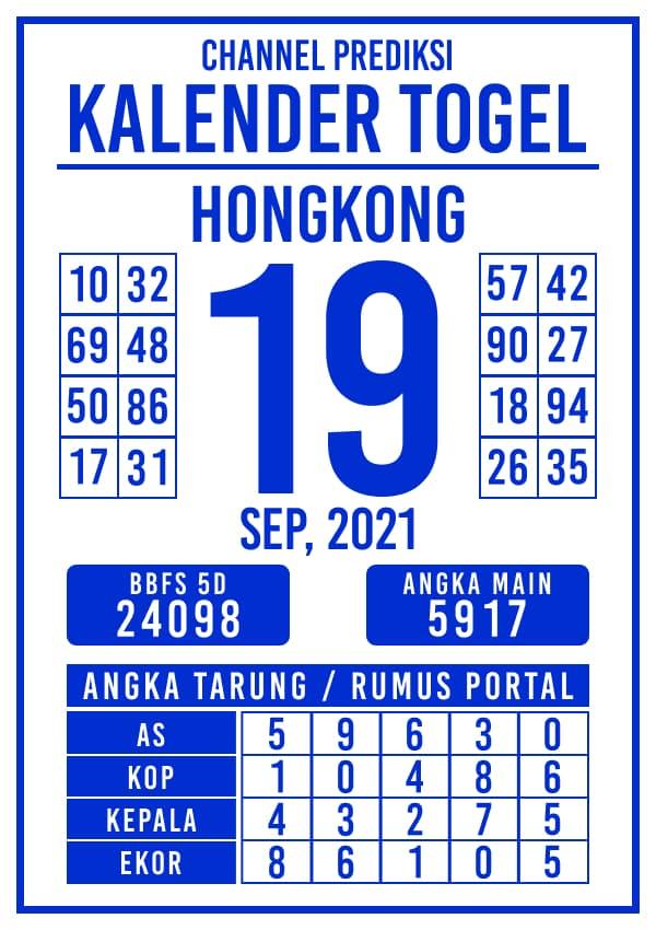 Prediksi Kalender Hongkong