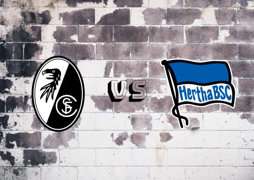 Freiburg vs Hertha BSC  Resumen