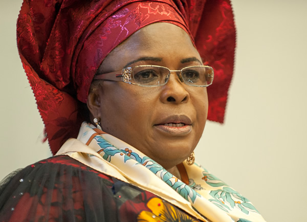 $15m scandal: Patience Jonathan accuses EFCC of hiring mercenaries