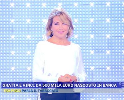 Barbara D'Urso abbigliamento pomeriggio cinque prima puntata 6 settembre