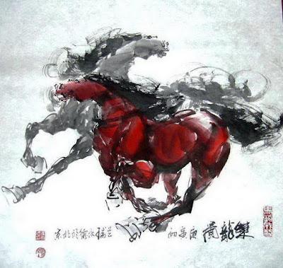 caballos-trotando-pintura