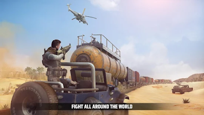 Cover Fire v1.10.0 [MOD Vip, Unlimited Money/Enemy] Apk Free Download