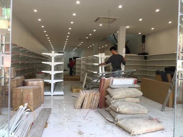 ISaac setup siêu thị Hoàn Là Mart tại Yến Bái
