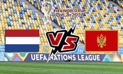 هولندا و الجبل الأسود بث مباشر