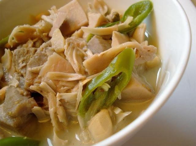 Berkreasi di dapur yuk Bunda dengan Resep Sayur Santan Nangka dan Ikan Kering