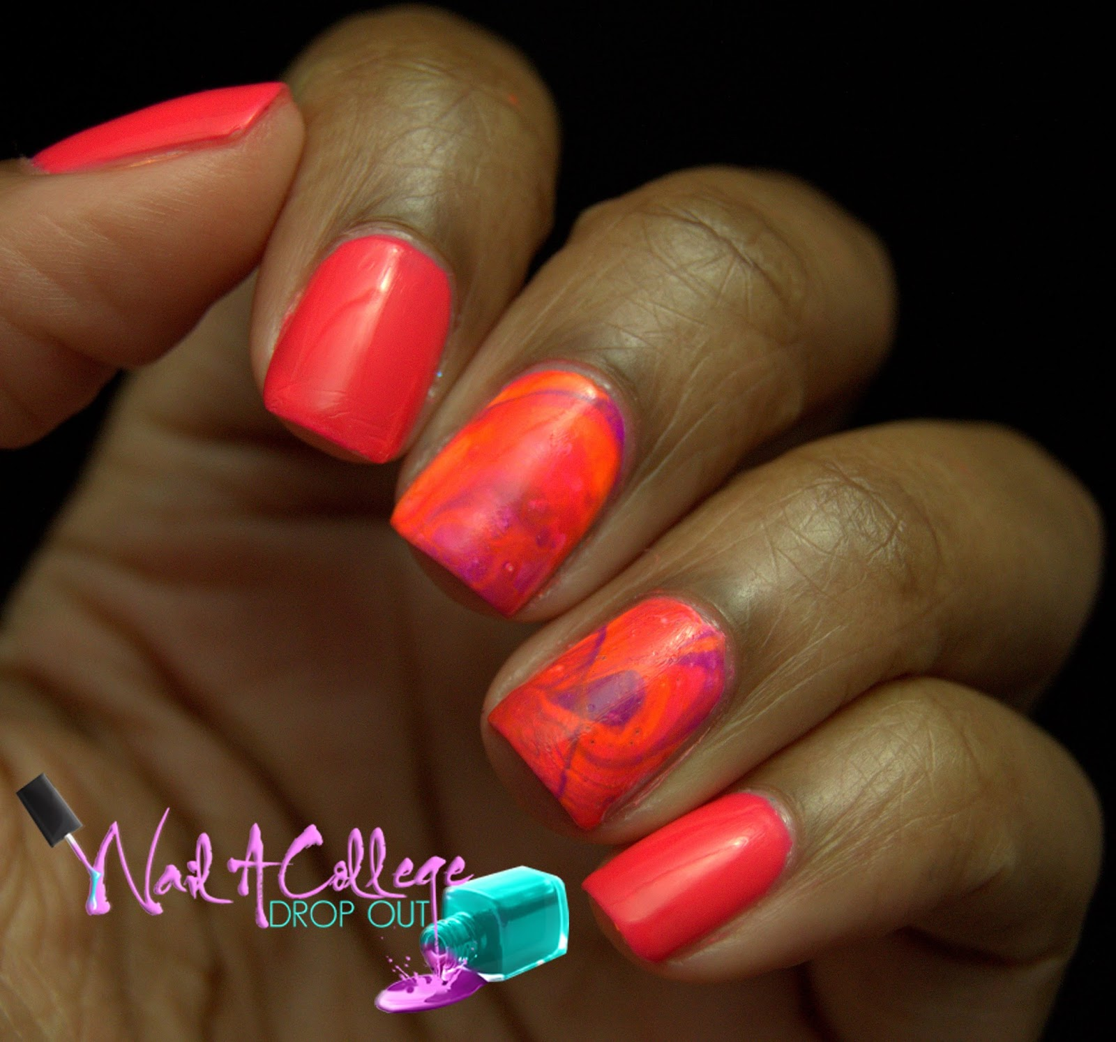 Nail A College Drop Out: KBShimmer All The Bright Moves Nail Art ...