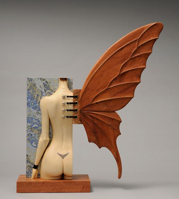 Esculturas eróticas de John Morris