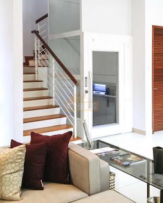 Lift Kecil Minimalis untuk Rumah