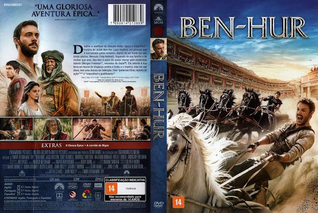 Capa DVD Ben Hur