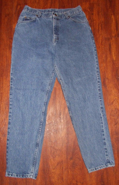 Women's Vintage Lee Denim Blue Jeans