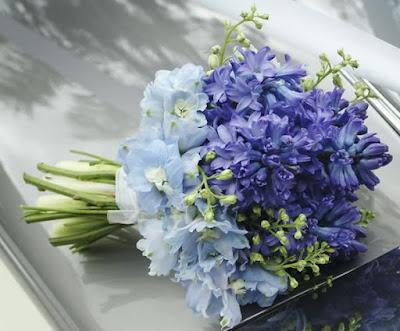 bo hoa da lan huong tim