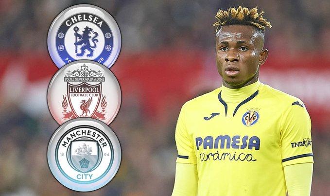 Villarreal Set Nigeria Star Samuel Chukwueze Price-tag After Liverpool £35m Bid Rejected!!