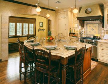 Kitchen island design ideas home appliance for Kitchen ideas no island