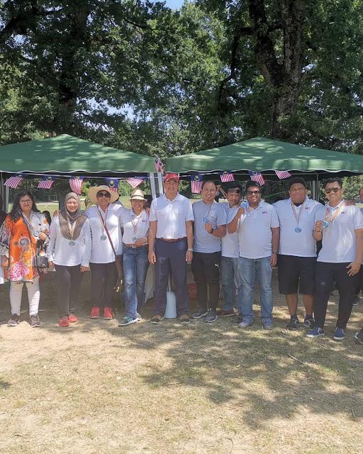 Bersama Komuniti Malaysia di ASEAN Family Day, Geneva
