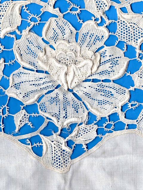 vintage lace rose