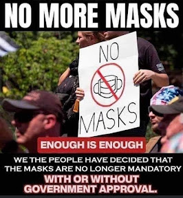 No More Masks...