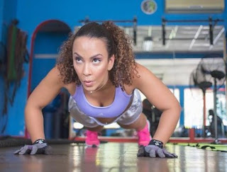 Jodi Stewart doing exercise