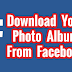 Facebook Photo Album Downloader