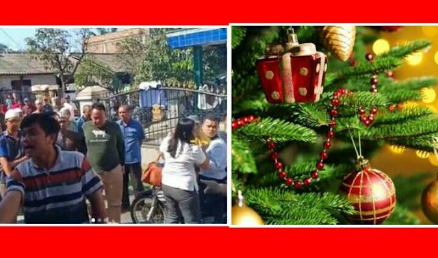 Seluruh Umat Kristiani Di 2 Kabupaten Sumatera Barat Dilarang Rayakan Natal, Bahkan Ada Yang Dipersekusi