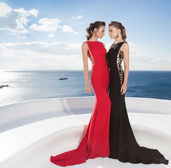 imagenes de vestidos modernos 2015