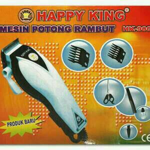 MENCUKUR RAMBUT CEPAT MUDAH PRAKTIS DENGAN MENGGUNAKAN ALAT CUKUR MESIN POTONG HAIR TRIMMER HAPPY KING HK-900
