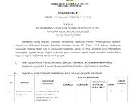 Seleksi CPNS Mahkamah Agung Republik Indonesia Tahun Anggaran 2019