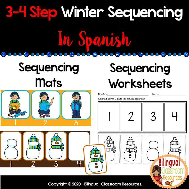 Winter Sequencing-Secuencias con dibujos
