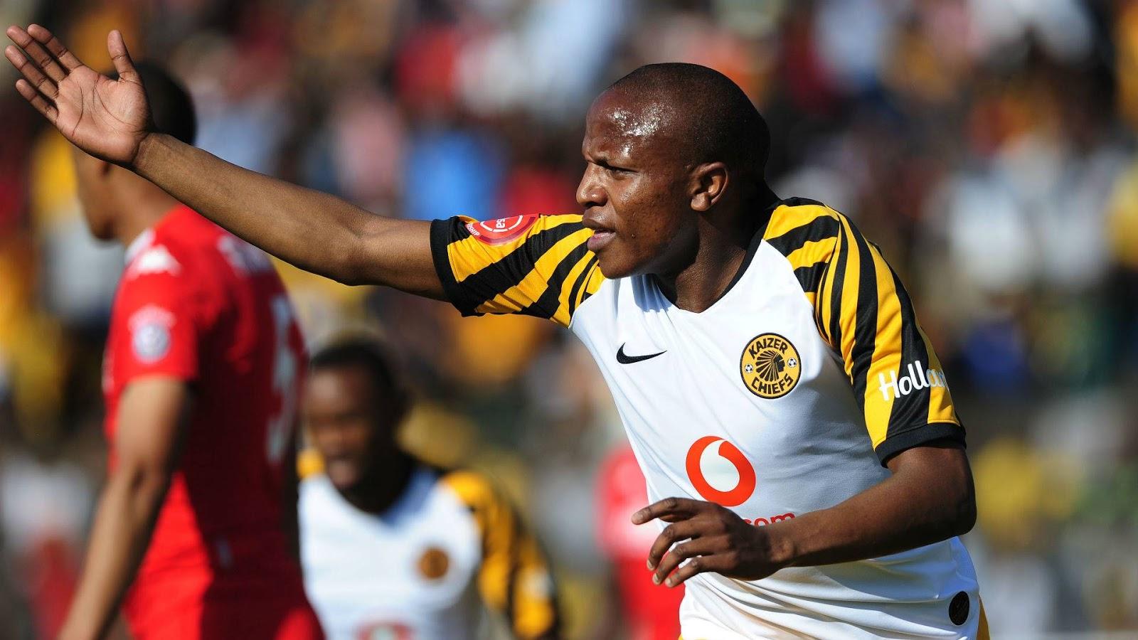 Kaizer Chiefs forward Lebogang Manyama